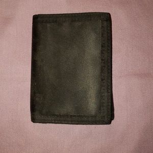 Other - Black Velcro Wallet